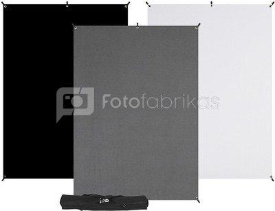 Westcott X Drop 3 Pack Backdrop Kit (5 x 7)