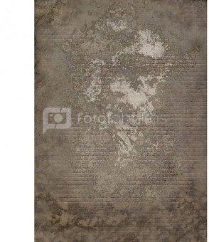 Westcott X Drop Vinyl Backdrop   Weathered Wall  1.52m x 2.13m