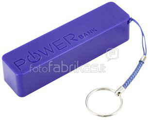XLayer Powerbank Colour Line Blue 2600 mAh