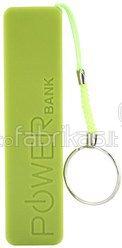 XLayer Powerbank Colour Line Green 2600 mAh