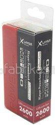 XLayer Powerbank Colour Line Red 2600 mAh