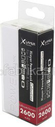 XLayer Powerbank Colour Line White 2600 mAh