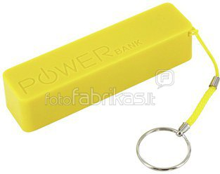 XLayer Powerbank Colour Line Yellow 2600 mAh