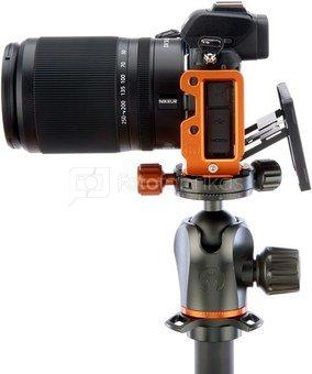 3 Legged Thing Zayla Dedicated L Bracket for Nikon Z50   PEAK DESIGN & ARCA Compatible Koper
