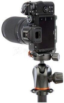 3 Legged Thing Zayla Dedicated L Bracket voor Nikon Z50 Grijs