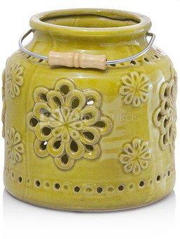 Žibintas keramikinis žalias DT14321M 20X20X20 SAVEX