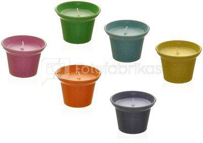 Žvakė indelyje 90 gr. citrusiniu kvapu D 10 cm, H 7.5 cm 871125279289