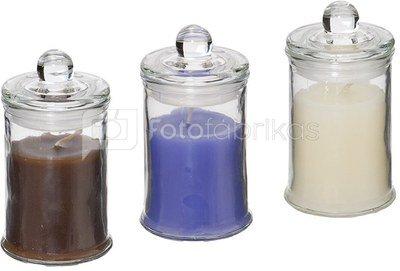 Žvakė nuo uodų stiklo inde su dangčiu 6.3x11.5 cm INA3369