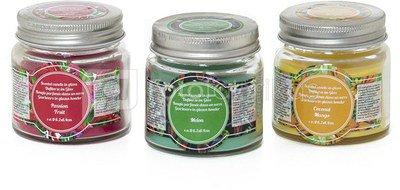 Žvakė stiklainyje 6,2 x 6,4 cm 70 g 871125202176 ( 3 spalvos)