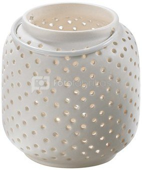 Žvakidė balta h 11 cm keramikinė O1027 Q