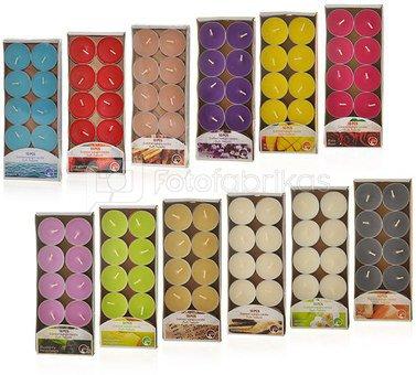 Žvakutės arbatinės 10vnt. 871125252018 (12 spalvų)