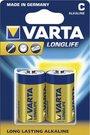 100x2 Varta Longlife Extra Baby C LR 14 PU master box