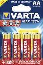 100x4 Varta Max Tech Mignon AA LR 6 PU master box
