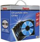 1x100 Hama Slim CD Jewel Case black 51270