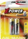 1x2 Ansmann Alkaline Mignon AA LR 6 X-Power