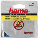 1x2 Hama protective sleeves for ID Cards 105349