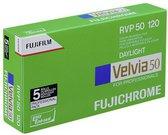 1x5 Fujifilm Velvia 50 120 New