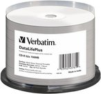 1x50 Verbatim CD-R 80 / 700MB 52x Medidisc wide silver thermal