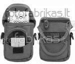 638-501 Krepšys foto ir vaizdo aparaturai juodas-pilkas