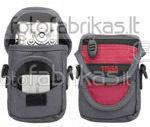 638-504 Krepšys foto ir vaizdo aparaturai juodas-raudonas
