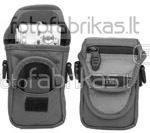 638-511 Krepšys foto ir vaizdo aparaturai juodas-pilkas