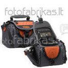 638-535 Krepšys foto ir vaizdo aparaturai juodas-oranžinis small