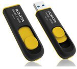 A-DATA DashDrive UV128 64GB Black+Yellow USB 3.0 Flash Drive, Retail