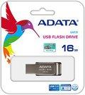 A-DATA FlashDrive UV131 16GB Chromium Grey USB 3.0 Flash Drive, Retail
