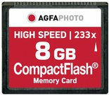 AgfaPhoto Compact Flash 8GB High Speed 233x MLC