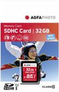 AgfaPhoto SDHC Card 32GB High Speed Class 10 UHS I