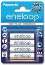 1x4 Panasonic Eneloop Micro AAA 750 mAh
