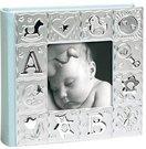 Albumas 281alb F 10x15 cm 100nuotr. vaikiškas mėlynas metalinis