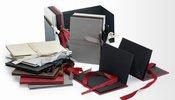 Album KPH LP-1292 Leporello black 10x15 14 corners`slips | expand