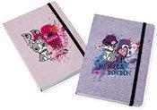 Albumas užrašų knygutė GB 46021 Rebecca Bonbon rožinė 7,6 x 10,2 cm 192 psl