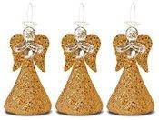 Angelai stikliniai 3 vnt. 6,5x3,5x3,5 cm 103938