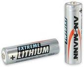 1x2 Ansmann Lithium Mignon AA LR 6 Extreme