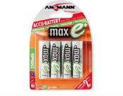 1x4 Ansmann maxE NiMH rech.bat. 2500 Mignon AA 2400 mAh