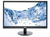 "AOC E2470SWH - LED 23.6"" - 1920x1080p - 250cd - 100M:1 (typ 1000:1) - 1ms - VGA/DVI/HDMI - SPK 2W - c.:black"