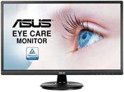 "ASUS VA249HE Eye Care Monitor 23.8"" FHD/5ms/16:9/1920x1080/250 cd/㎡/178°(H)/178°(V)/D-Sub/HDMI/Black"