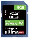 Atminties kortelė Integral 8GB SDHC CL10