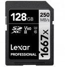 LEXAR PROFESSIONAL SDHC / SDXC 1667X UHS-II 128GB