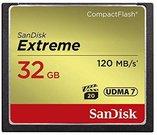 Atminties kortelė SanDisk CF 32GB Extreme 120MB/s