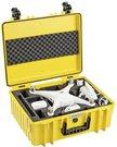 B&W Copter Case Type 6000/Y yellow DJI Phantom 4 Pro Inlay