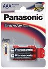 Baterijos Panasonic EVERYDAY LR03-2BP
