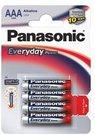 Baterijos Panasonic EVERYDAY LR03-4BP