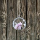 Burbulas stiklinis apvalus (6) YQO5115-3 dia10 cm SAVEX