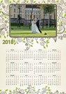 """Calendar """"Ornaments"""" A4"""
