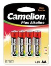 Camelion Plus Alkaline AA (LR06), 4-pack 1-pack maitinimo elementai