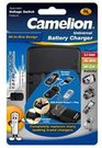 "Camelion Universal Charger LBC-312 ""All in One"" (without batteries) / For Ni-MH, Ni-Cd, Li-ion / 2 Channels / USB Output (5V 600 mA max)"