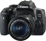 Canon EOS 750D 18-55 IS+STRAP 0592C038AA